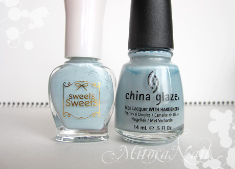 sweets sweets NL8 ソーダ/China Glaze#80972 Sea Spray(シースプレー)