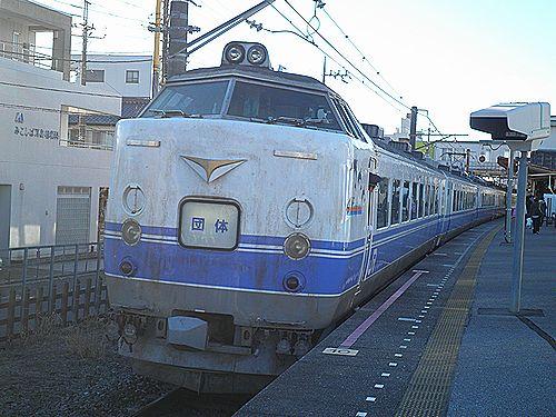 勝田485系K60・湖北
