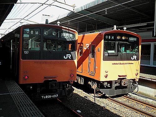 環状線201系鶴橋
