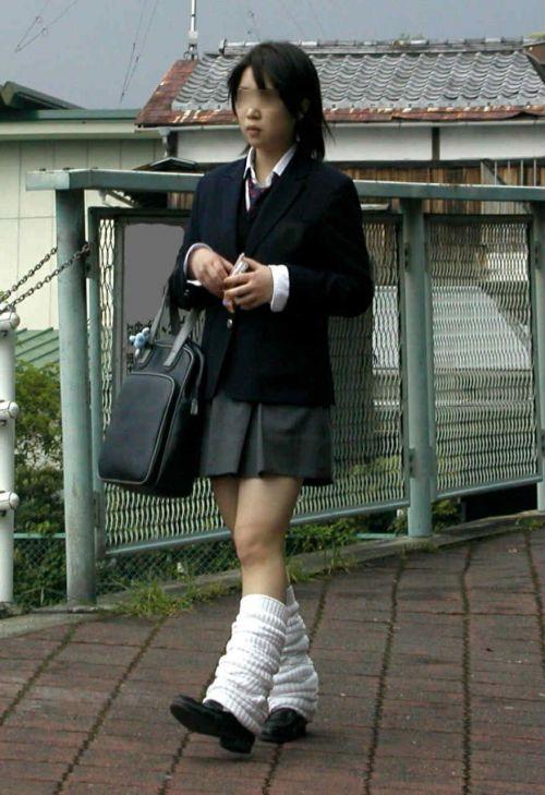 【三次画像あり】 脚がエロイ女子高生画像が集まるスレ! 56枚 part.24 No.56
