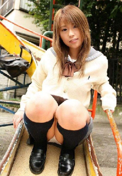 【三次・画像あり】 かわいいJKのM字開脚は卑猥だよな!! 53枚 part.13 No.33