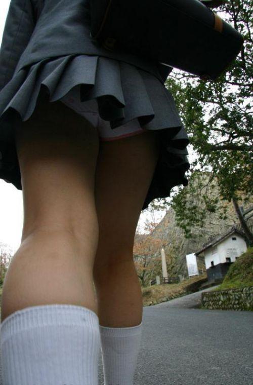 【盗撮】 制服JKの逆さ撮り画像が集まるスレ!! 38枚 part.11 No.16
