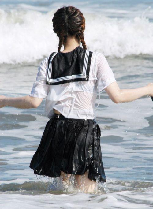 【三次・画像あり】 水に濡れて透け透けになってるJKって興奮しちゃうよな! 27枚 part.4 No.10