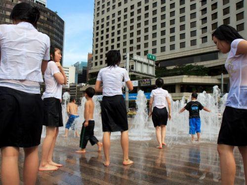 【三次・画像あり】 水に濡れて透け透けになってるJKって興奮しちゃうよな! 27枚 part.4 No.27