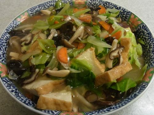 120721-030厚揚げと野菜のうま煮(S)