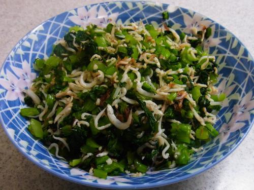 120721-030小松菜のしらす和え(S)