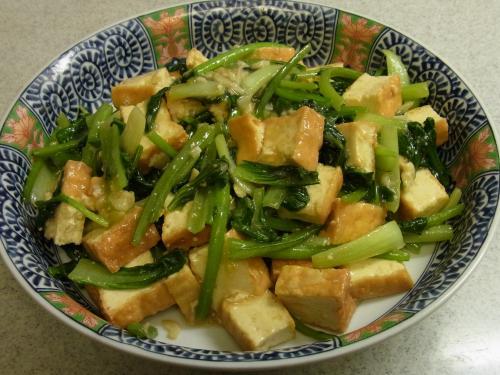 120901-020青菜と厚揚げの炒め(S)