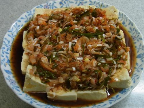 120915-020めかぶキムチ豆腐(S)