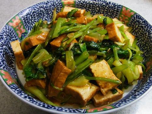 120922-020厚揚げと青菜の炒め(S)