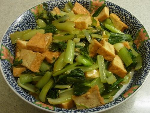 121016-221青菜と厚揚げの炒め(S)