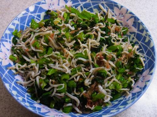 121110-231小松菜のしらすおかか和え(S)