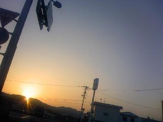 今日の夕焼け3