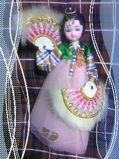 可愛い韓国人形!