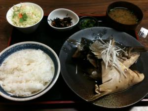 ぶりかま煮定食