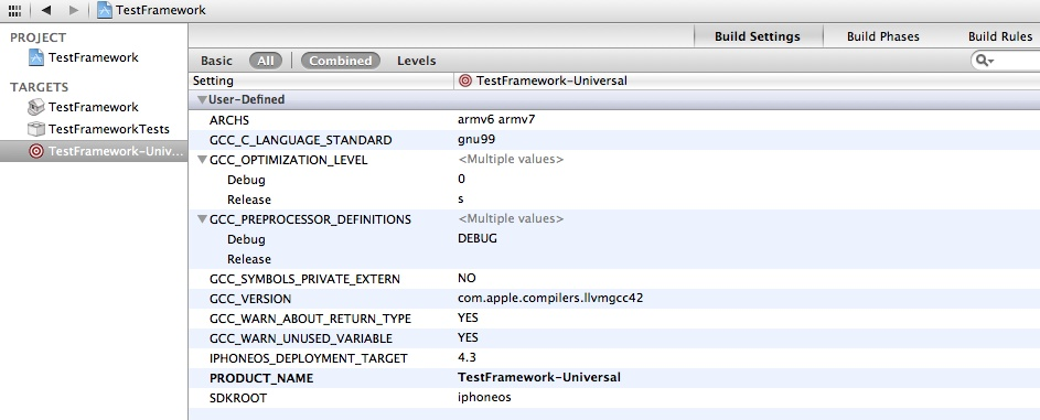 Xcode Framework 06