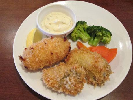 牡蠣フライ&カニクリームコ