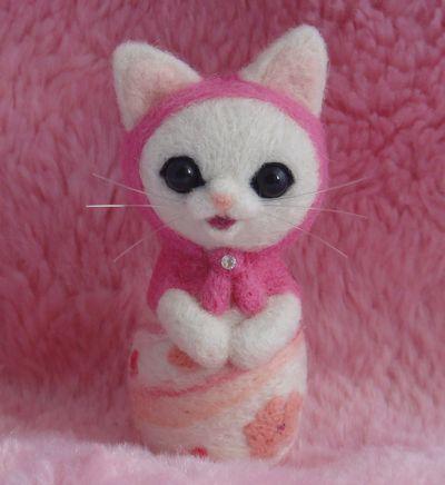 桜マト白猫1