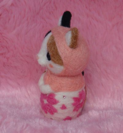 桜マト三毛猫2
