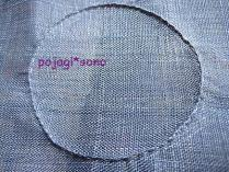 つまみ縫いのデザイン案