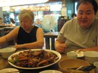 初日の夕飯は安東チムタッ たくさんたべました~
