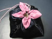 (まだ仮縫い)花びらの巾着の変形型