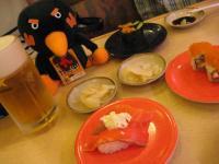 九感鳥と回転寿司