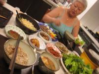 ソウルにてある日の夕食