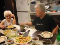 ソウルある日の夕食