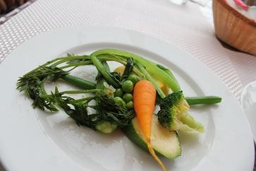 付け合わせ野菜