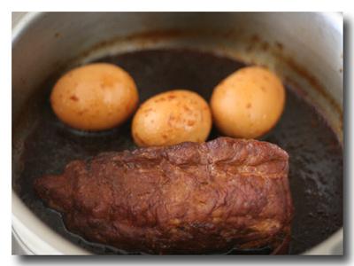 圧力鍋で焼き豚
