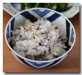 雑穀米入りごはん