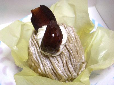 【ケーキ】プラネッツ「モンブラン」