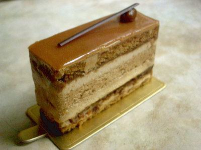 【ケーキ】パティスリー・ドゥ・シェフ・フジウ「モン・キャフェ・キャラメルラム」