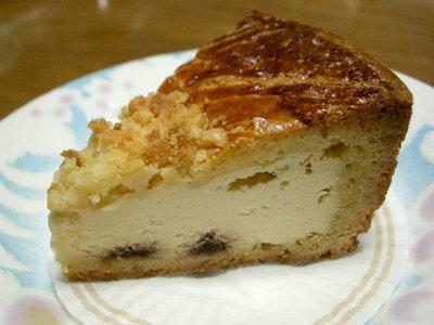 【ケーキ】パティスリー・ドゥ・シェフ・フジウ「バスク・オ・フロマージュ」
