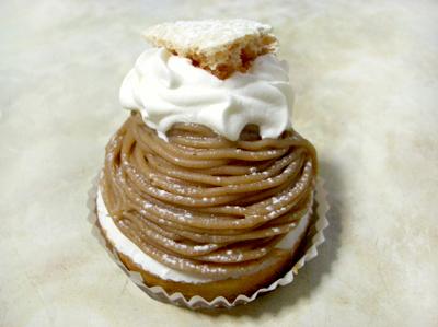 【ケーキ】ピュイサンス「モンブラン」