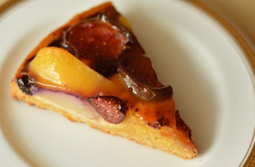 【ケーキ】パリの空の下「いちじくのタルトのアマンドゥ」 (3)