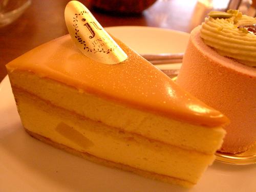 【ケーキ】ジュンウジタ「洋梨のババロアズ」02