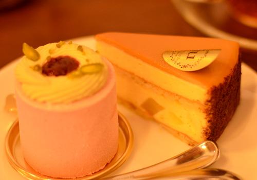 【ケーキ】ジュンウジタ「洋梨のババロアズ」01