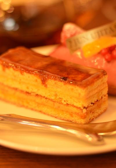 【ケーキ】ジュンウジタ「オランジュ キャラメル」01