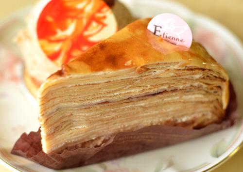 【ケーキ】エチエンヌ「ミルクレープマロン」