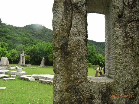 八塔寺ダムの公園