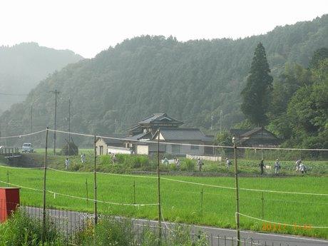 村の草刈り