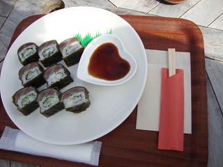 さんま寿司ロール