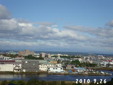 26日朝風景