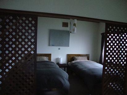 レンタルハウス寝室