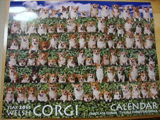 コーギーカレンダー
