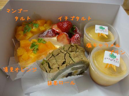 しょうげつのケーキ