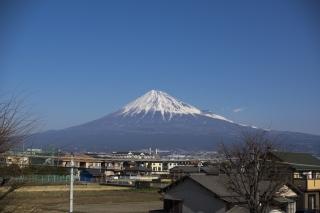 ここからも富士の山
