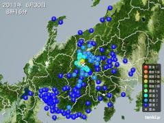 110630長野県で震度5強