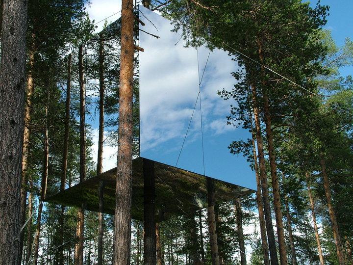 Treehotel_Mirror_Cube_04